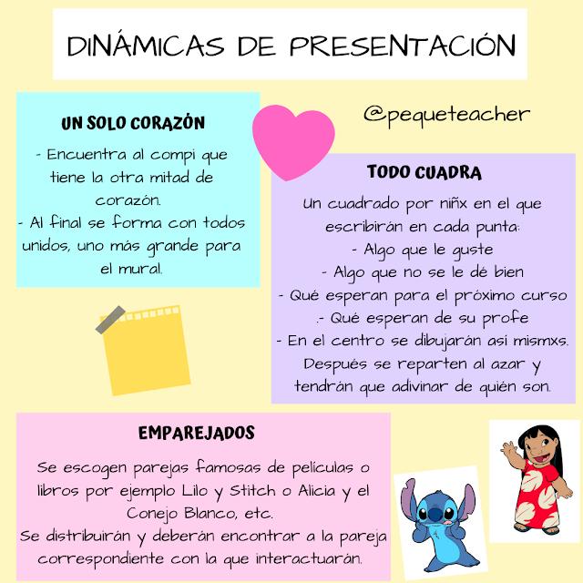 Dinámicas De Presentación En El Aula Para Los Primeros Días Primer Dia De Clases Dinámicas De Presentación Actividades De Autoestima