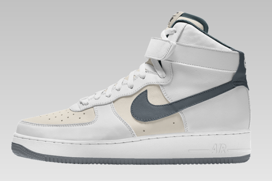 nike air force 1 high all white nz
