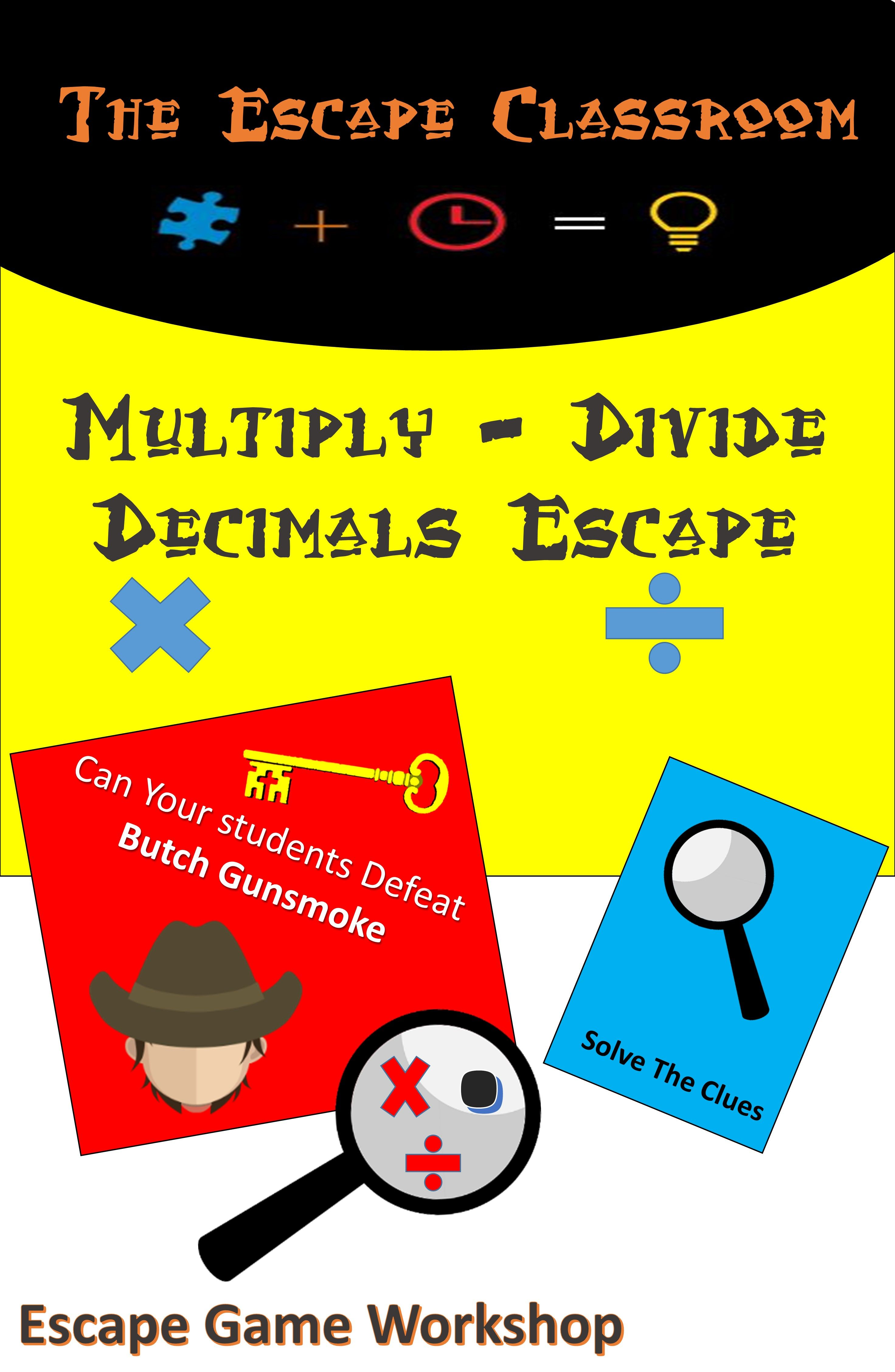 Equivalent Fractions Escape Room Thanksgiving Math