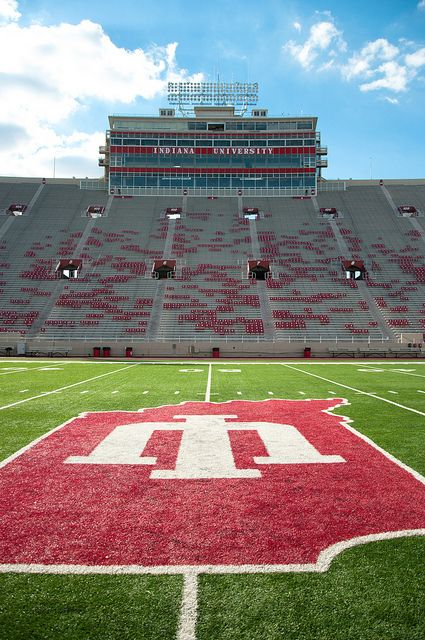 Indiana University Memorial Stadium Stadium Indiana University Osu Buckeyes