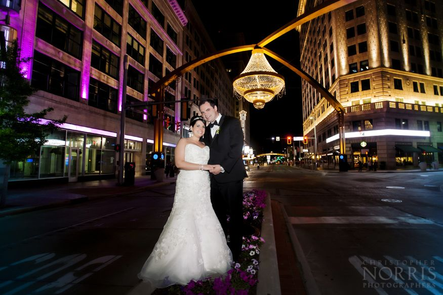 The Hy In Heart Of Cleveland S Theater District Playhouse Square Illuminated By