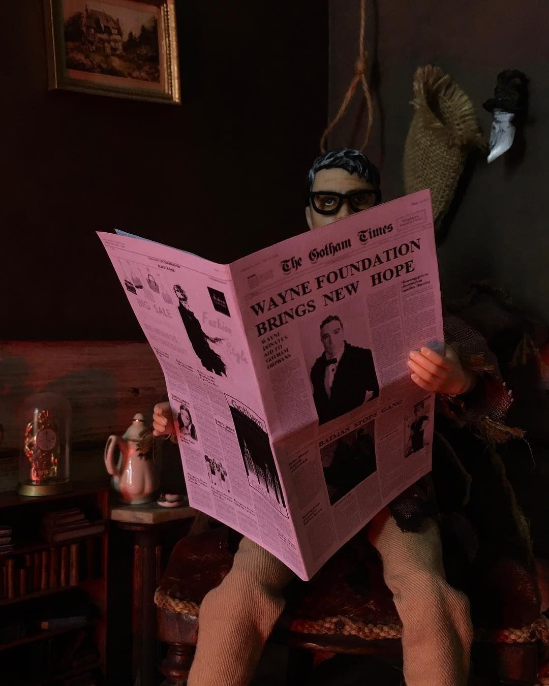 Dr Crane isnt here right now...#scarecrow #drjonathancrane #jonathancrane #DC #DCU #batman #gotham #arkhamasylum #roguesgallery #doll #mattel #matteldoll #kendoll #barbie #customdoll #ooak #barbiedoll