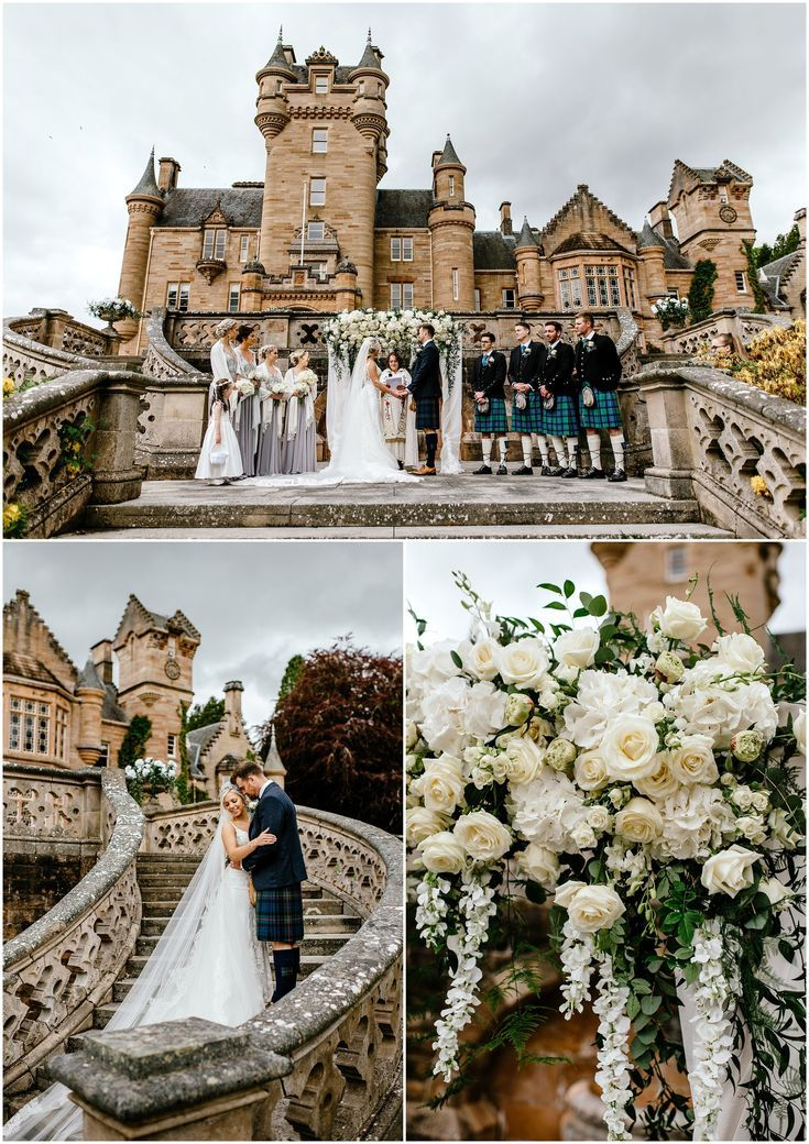 Whimsical Scottish wedding at Ardross Castle in 2020 (With