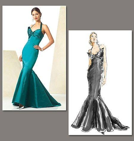 Extravagantes Kleid von Bellville Sassoon mit auffallender Schleppe ...