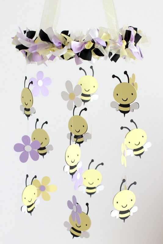 The baby lavender buzzy buzzy bee