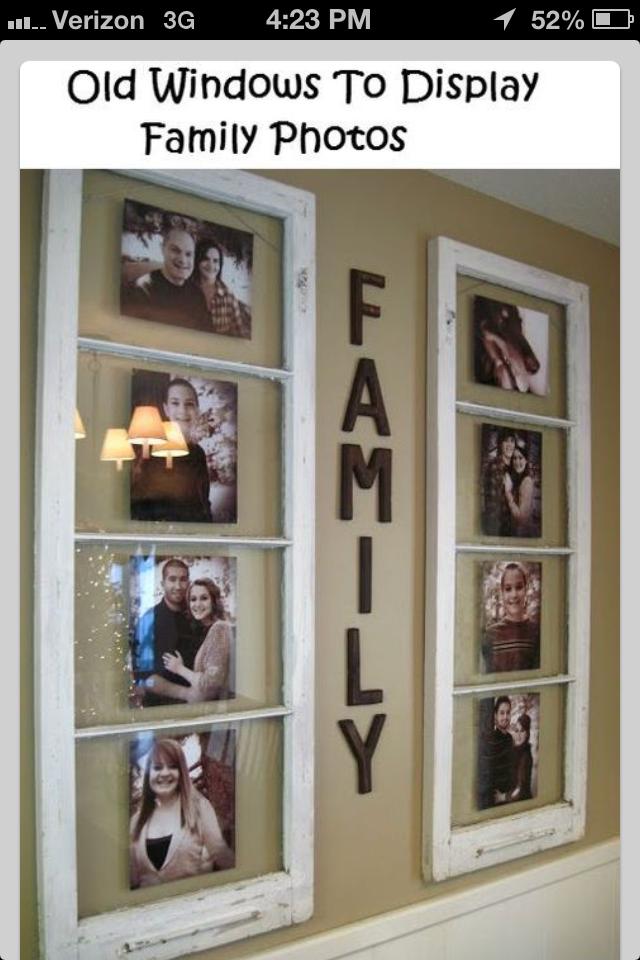 Home decor idea with old windows | farmhouse style/decor | Pinterest ...