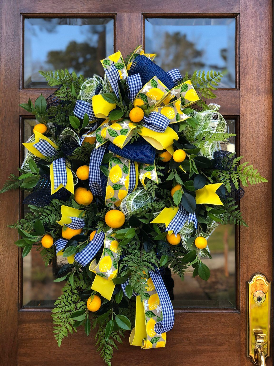 Photo of 10 fabulous summer wreaths for your front door – 3 little greenwoods