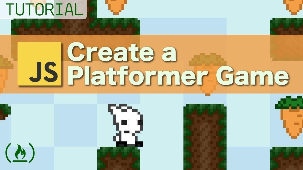 Platformer Game Tutorial using JavaScript Full tutorials