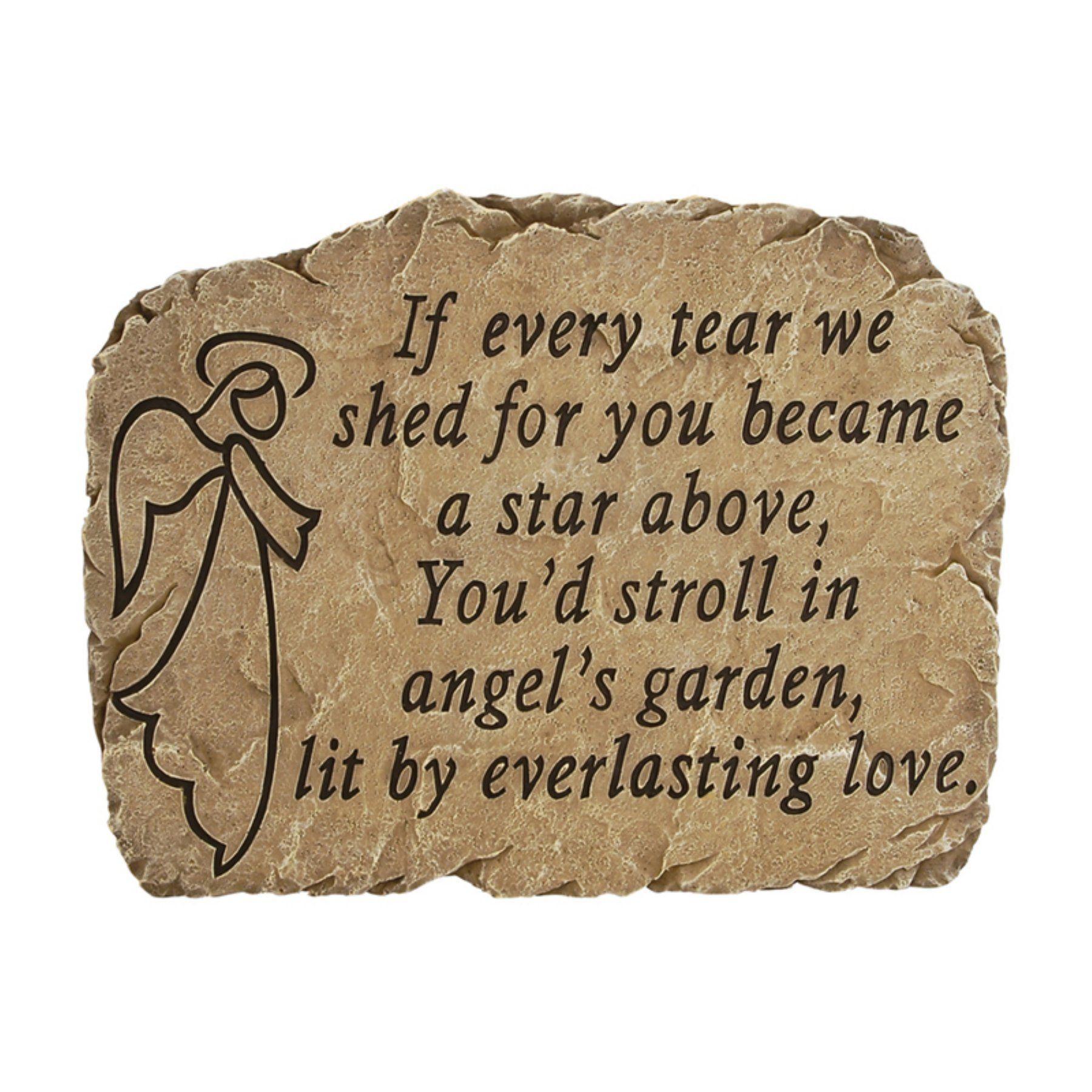 Carson Home Accents Angel\'s Garden - Garden Stone - 12972   Angel s ...