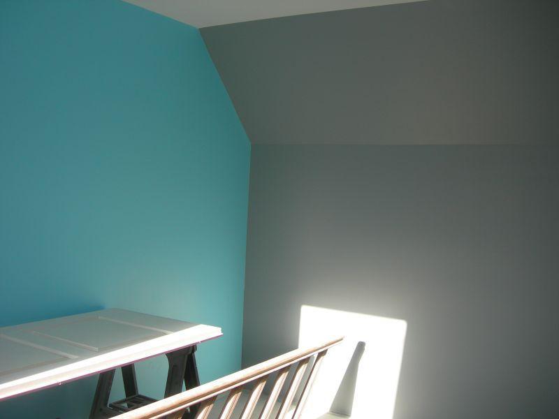 gris et turquoise ??? Déco Pinterest Room - deco chambre turquoise gris