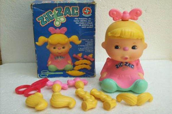 Brinquedos Anos 90 Boneca Zic Zac Estrela Brincava Com A Da