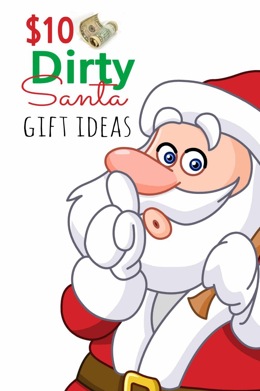 Dirty santa christmas gift ideas for 10