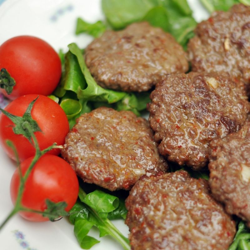 A simple and flavorful recipe for the perfect hamburger patty. . Perfect Hamburger Patty Recipe from Grandmothers Kitchen.