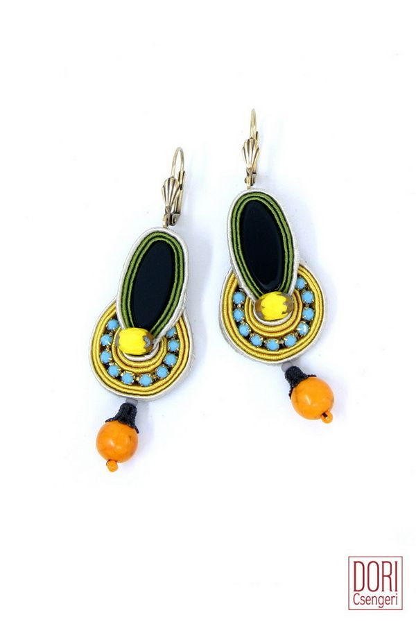 CCE-E224 , ccee224 , black earrings , boho , chic , style , summer must haves ,