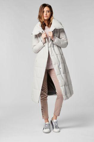 Ivory Long Duvet Jacket From Next Australia