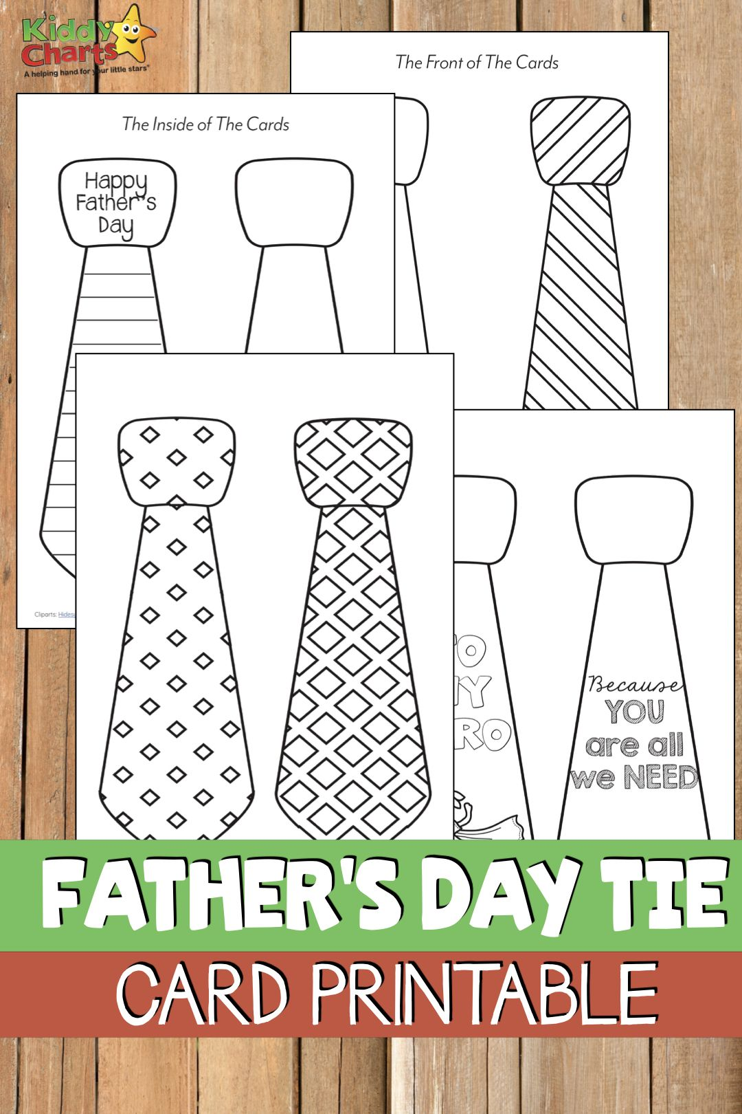 This Free Printable Father S Day Tie Card Is Just Perfect