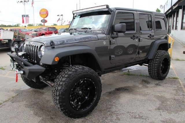 2014 Jeep Wrangler Unlimited Www Customtruckpartsinc Com Is One
