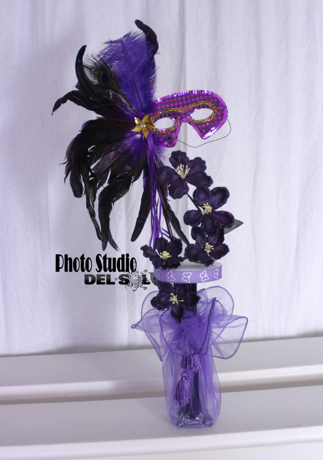 Masquerade centerpieces for sweet beautiful make