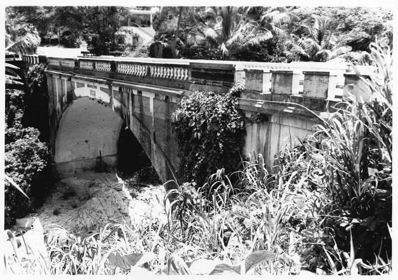 Utuado barrio salto arriba puente blanco