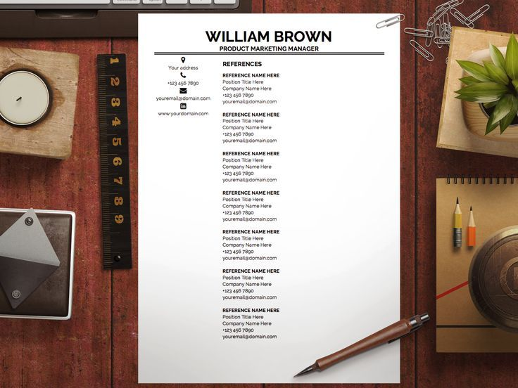 Resume Template William Brown Cover letter template, Letter - resume 1 or 2 pages