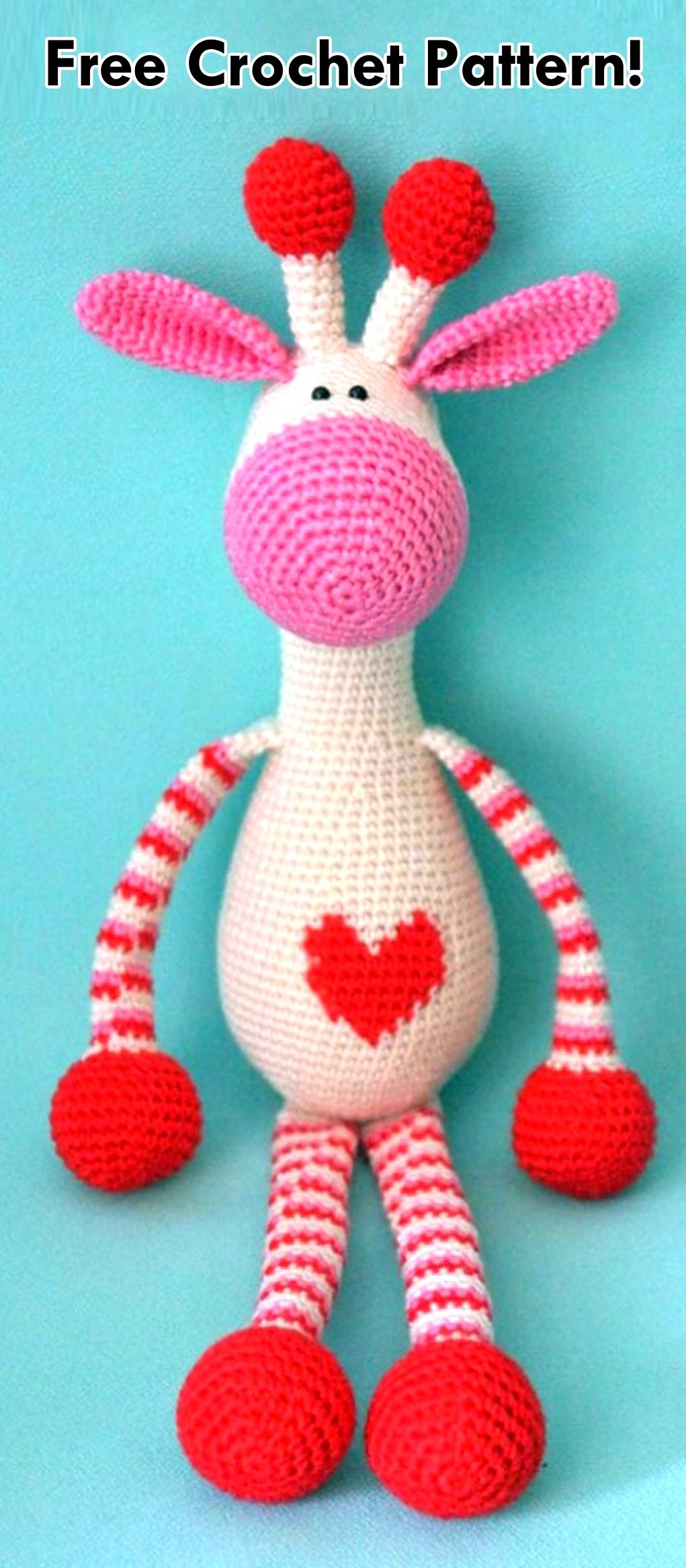 Valentines Animals Crochet Project Pinterest Crochet