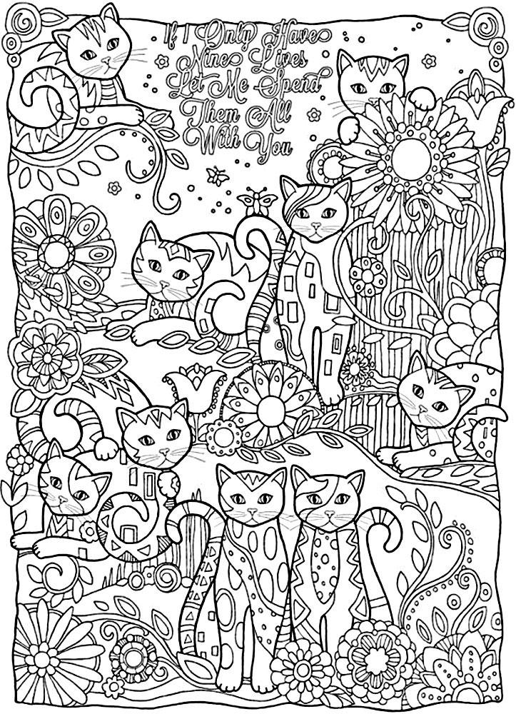 Dificiles Paginas Para Colorear Para Ninas De 10 12 Anos Imprime Gratis Paginas Para Colorear Para Ninos Colorear Para Ninos Libro De Colores