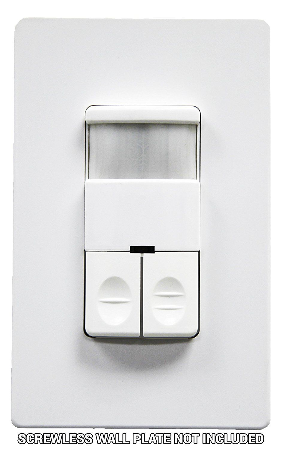 Enerlites DWOS-JD Dual Relay Occupancy Sensor Switch, Bi-Level, PIR ...