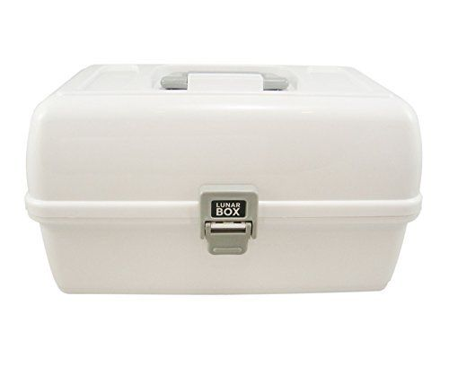 Adjustable Compartments 3 Tray Cantilever Fishing Tackle Box