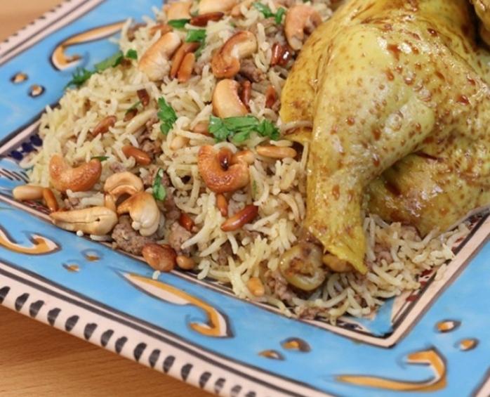 طريقة عمل الاوزي السوري باللحمة المفرومة تحضر بطريقة سهلة و سريعة مع رباح محمد الحلقة 456 Youtube Cooking Recipes Cooking Eid Food