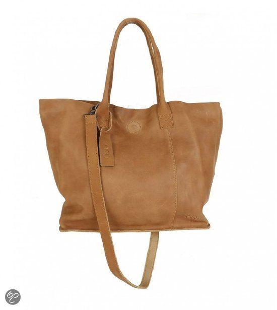 Chabo bags Chabo Shopper camel | Tassen, Tas