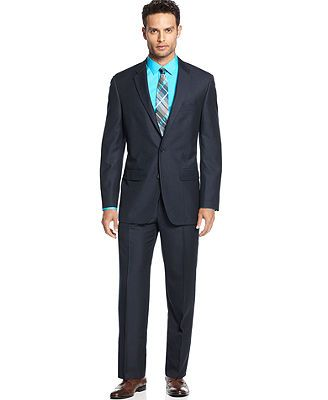 Alfani Suit, Blue Herringbone | Wedding Ideas | Pinterest | Weddings