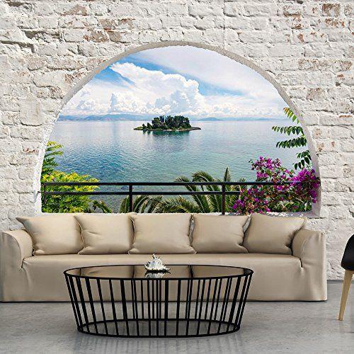 Fotomural 350x245 cm 3 tres colores a elegir papel - Papel pintado paisajes ...