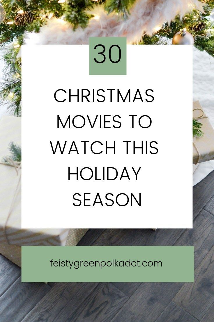 30+ Movies To Watch This Holiday Season! Check out which Christmas movies are on Netflix,  see my recommendations for classic Christmas movies, and find a list of kid friendly Christmas movies! #holidaymovies #christmasmovies #holidays