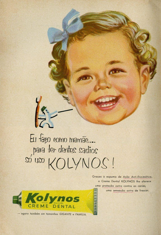 95f3fab32f0 Propagandas antigas de creme dental