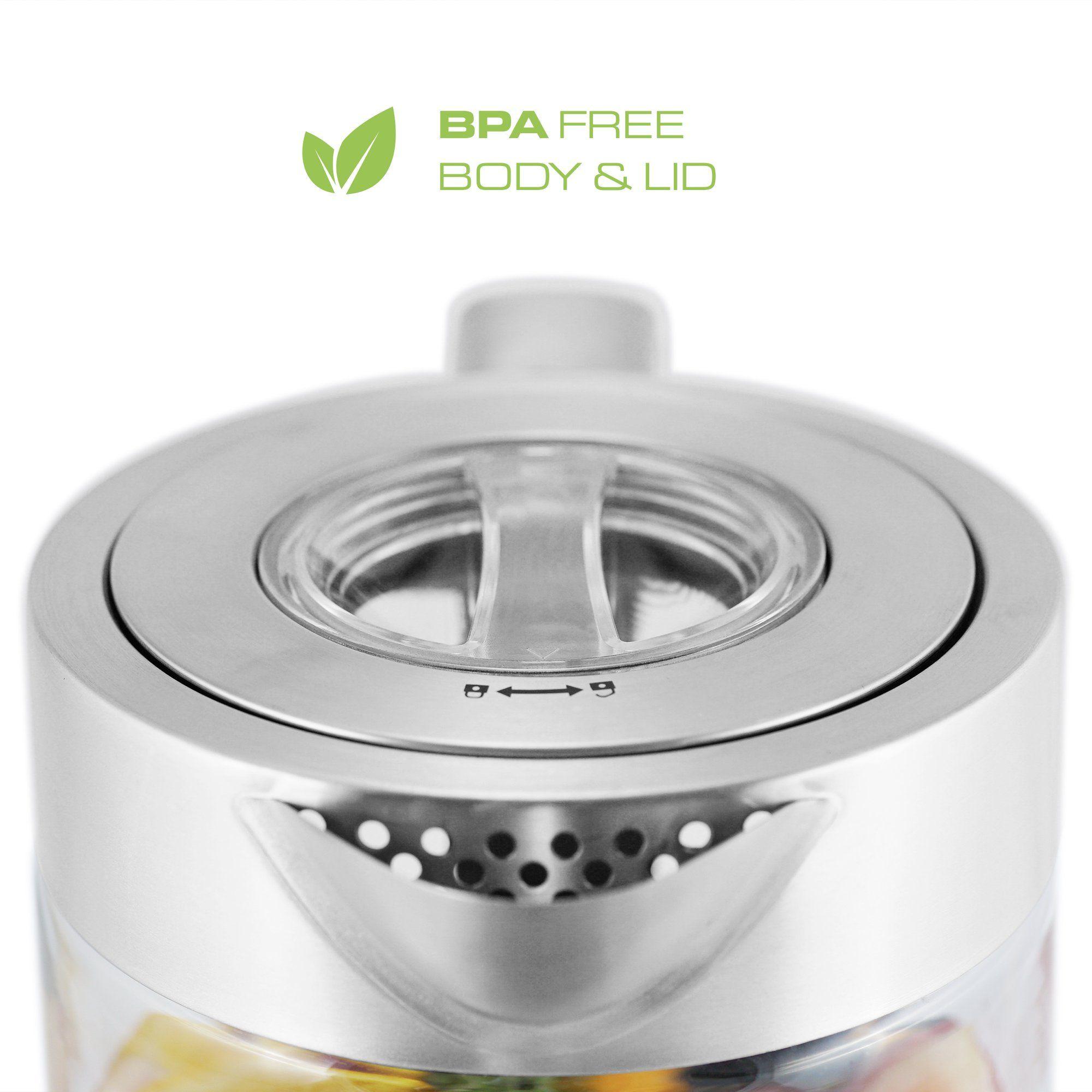 Viante ket electric glass tea maker kettle with removable tea
