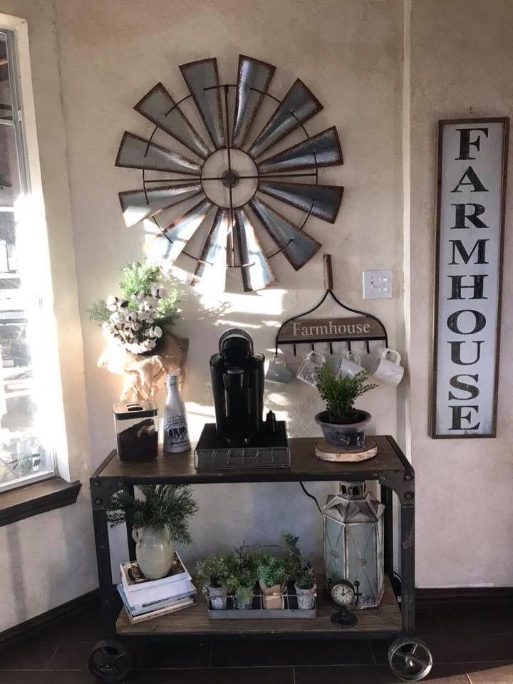 Cute farmhouse coffee bar farmhouse coffee bar