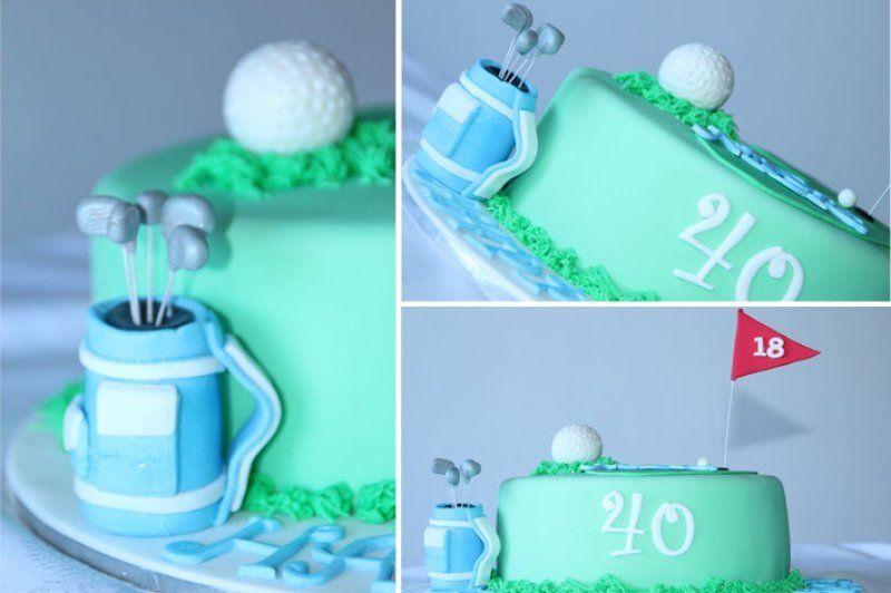 Golf cake golf cake sport cakes cakes sydney