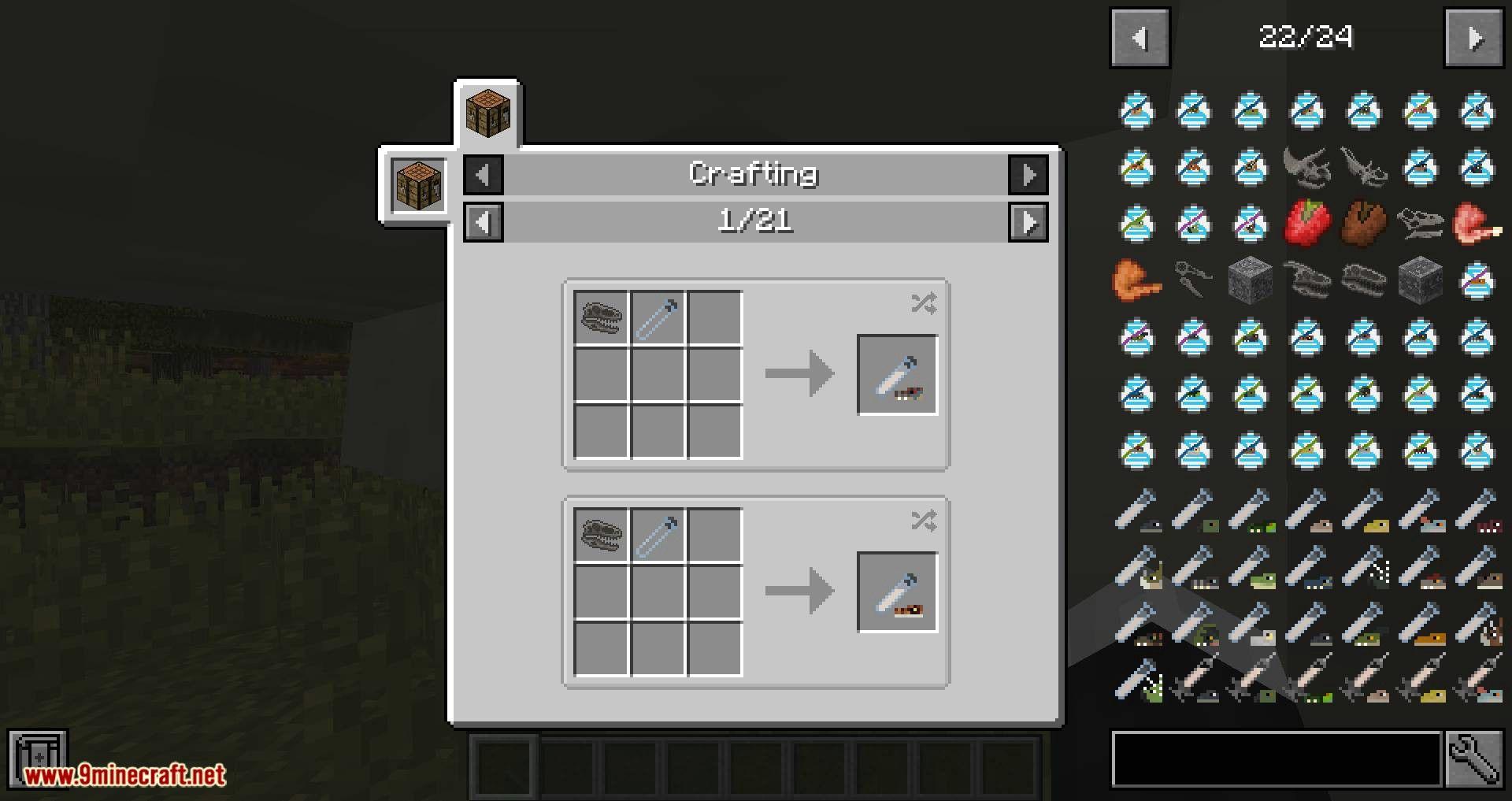 Minejurassic Mod 1 12 2 Crea Tus Dinosaurios 9minecraft Net Minecraft Mods Mod Dinosaur