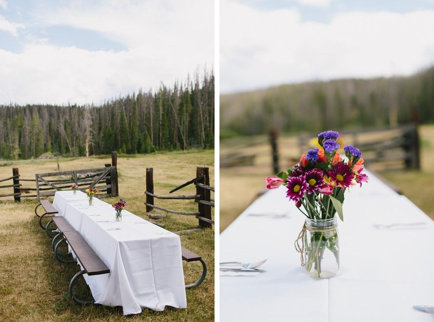 Double A Barn Wedding in Grand Lake, Colorado (With images ...