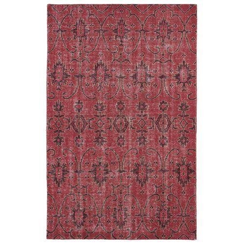 Mistana Anjali Hand Knotted Wool Raspberry Burgundy Milk Chocolate Brown Area Rug Reviews Wayfair Red Wool Rug Area Rugs Kaleen