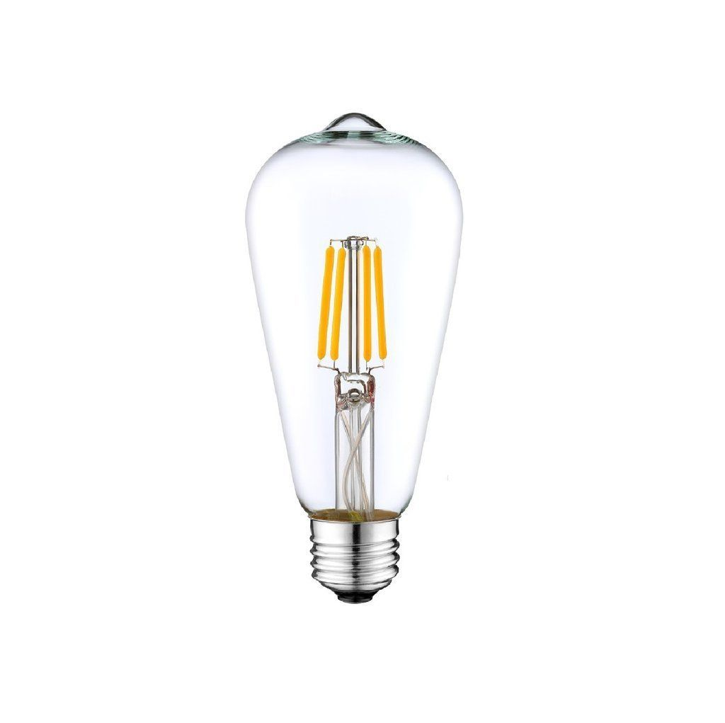 Dc 12v 24v 36v 6w Led St64 Classic Retro Wire Filament Light Bulb Industrial Loft Lowvoltage Energysaving Light Lamp Electron Battery Lamp Led Bulb Bulb