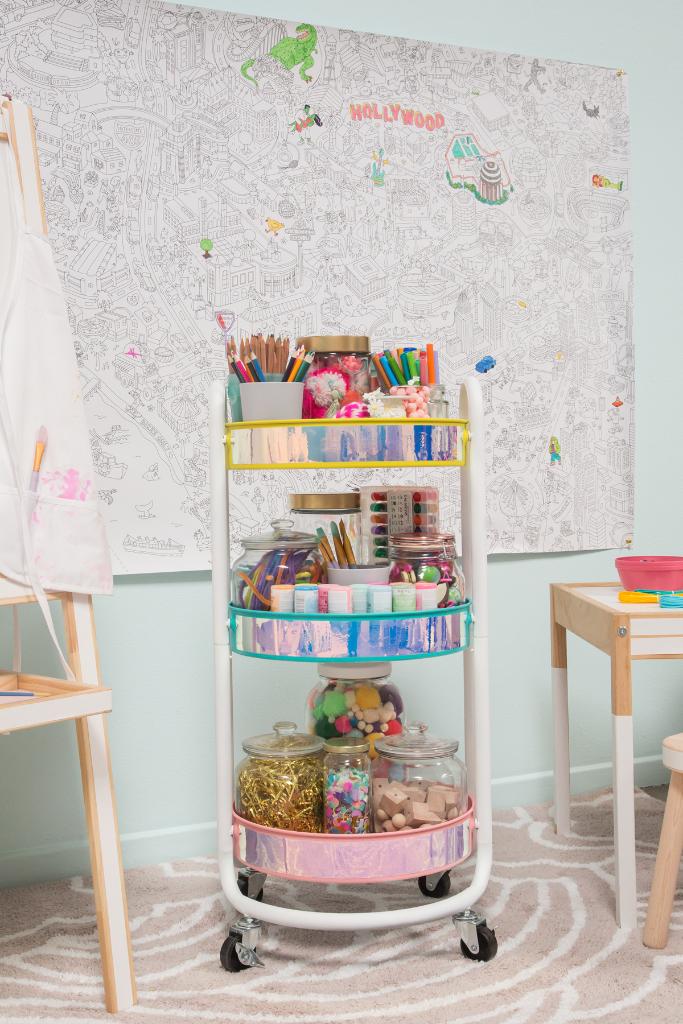 make a kids' craft cart images
