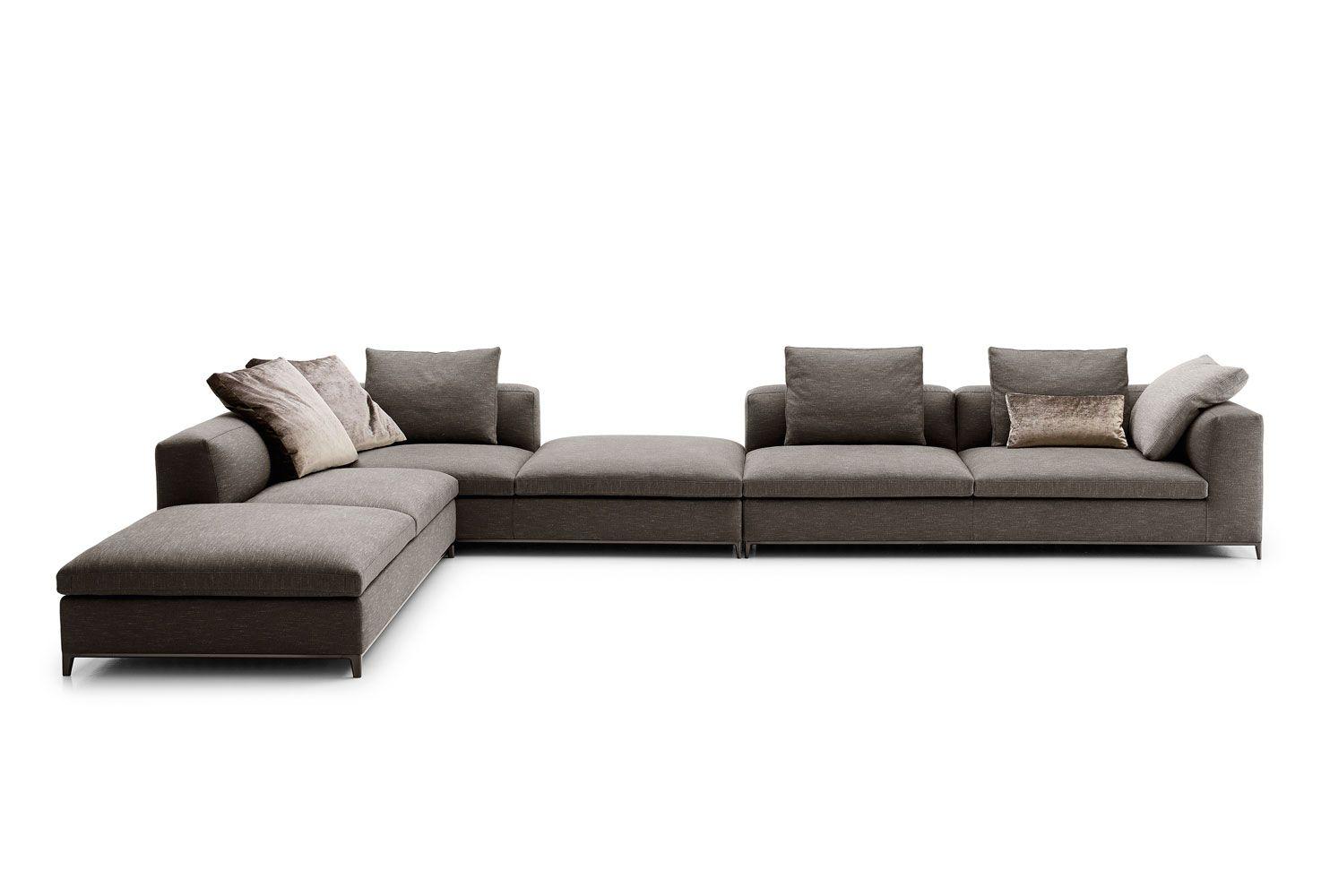 Sofa michel club collection b b italia design for Mobilia italia