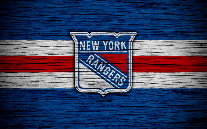 Download wallpapers New York Rangers, 4k, NHL, hockey club