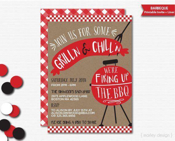 bbq invitation barbeque invitation backyard barbeque grill
