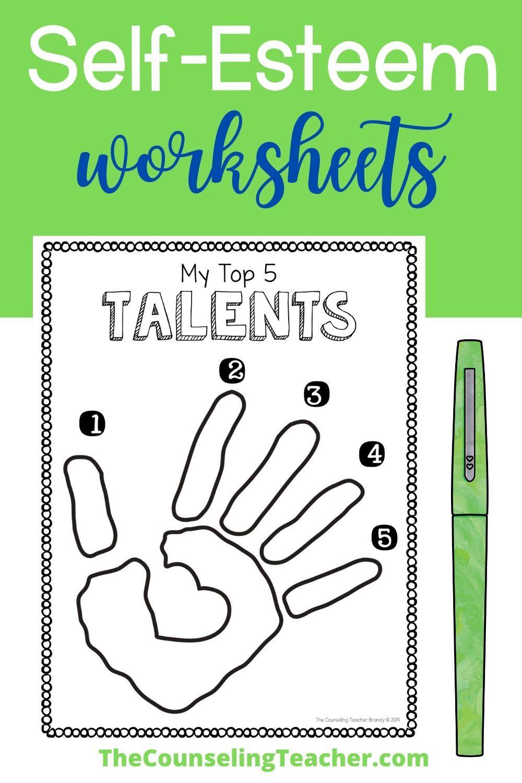 Self Esteem Worksheets For Kids Self Esteem Activities Self Esteem Worksheets Self Esteem [ 1500 x 1000 Pixel ]