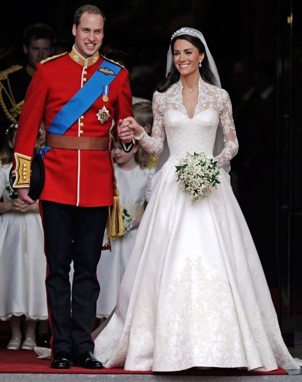 kate middleton | wedding organization | primer aniversario de boda