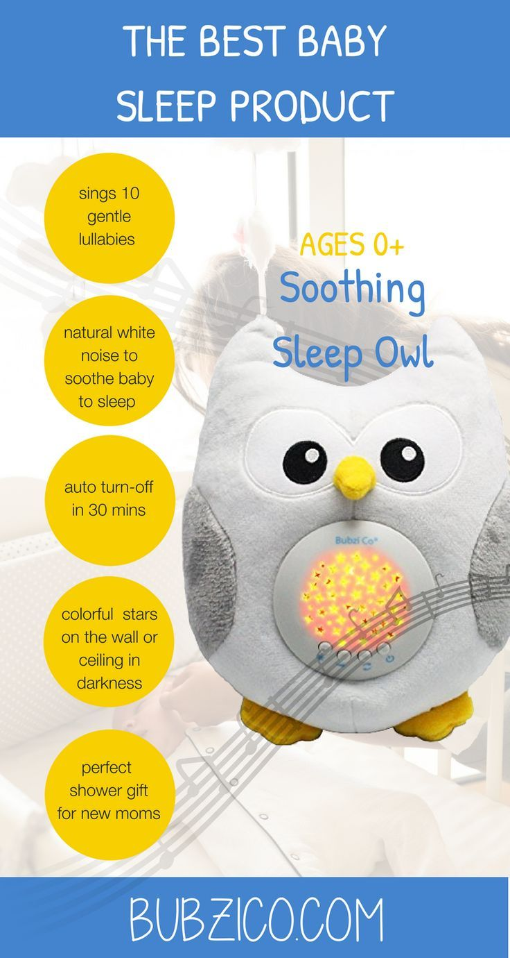 b03498210d06 Sleep Owl sings 10 gentle lullabies   projects colorful starlight in the  nursery to softly soothe baby ...