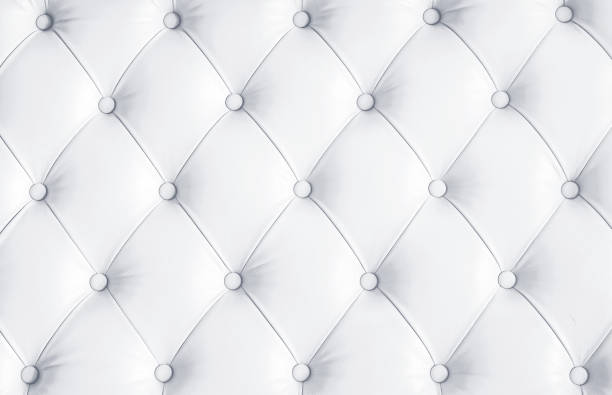 White Quilted Leather Pattern Texture Royalty Free Images Image Leather Pattern