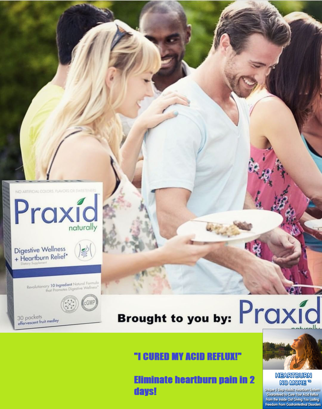 Good news... Praxid is the leading patented natural